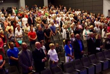 Tautiškos  giesmės giedojimas Prienuose ir koncertas, skirtas Mindaugo karūnavimo dienai (Fotoreportažas)