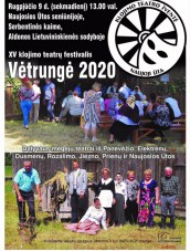 "Teatrų festivalis ""Vėtrungė 2020"" Serbentinės kaime"