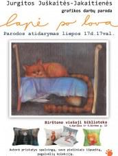 Jurgitos Juškaitės-Jakaitienės grafikos darbų paroda