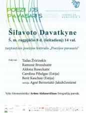 Poezijos pavasaris Šilavoto Davatkyne
