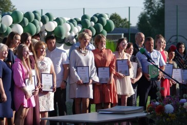 """Atestatų įteikimo šventė """"Žiburio"""" gimnazijoje (Fotoreportažas. II dalis)"""