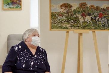 Reginos Žurauskienės siuvinėtų darbų paroda Prienų krašto muziejuje (Fotoreportažas)
