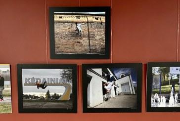 Algimanto Barzdžiaus paroda Prienų KKSC: BE KLIŪČIŲ, arba parkūras – gyvenimo filosofija ir judėjimo menas