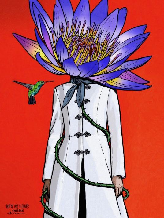 01_Algis Krisciunas_treat me like a flower 200x150 cm Jaunimo linijai (1)