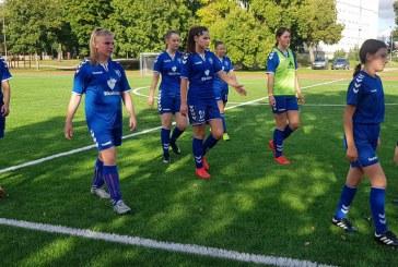 """Regionų moterų lygos starte – dvi FK """"Prienai"""" komandos pergalės"""
