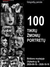 100 tikrų žmonių portretų