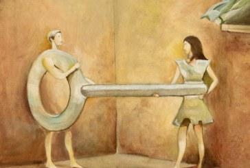 Aleksandro Laurs tapybos paroda su klausimais ir atsakymais, su vizijomis ir šydo praskleidimu…