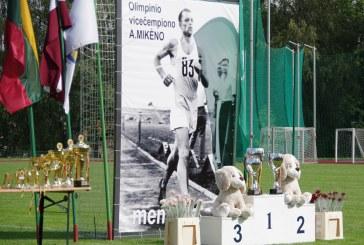 XXXIV Antano Mikėno memoriale – geriausias sezono rezultatas ir asmeniniai laimėjimai