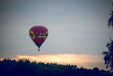 Karšto oro balionų čempionate po dviejų skrydžių lyderiauja Laurynas Komža