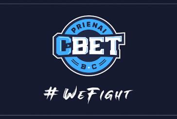 """""""Prienų"""" klubo komanda ir šiame sezone vadinsis """"CBet"""""""
