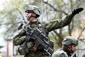 Pakuonio seniūnijos teritorijoje –Krašto apsaugos savanorių pajėgų karinės pratybos