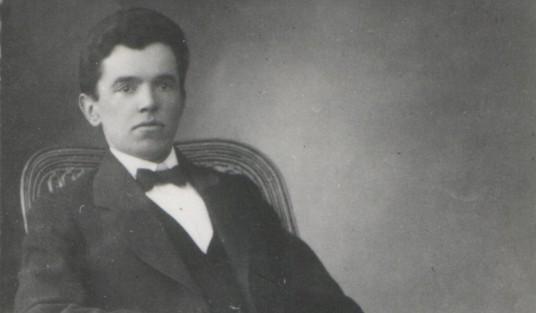 1908m. Papiles pradzios mokyklos mokytojas