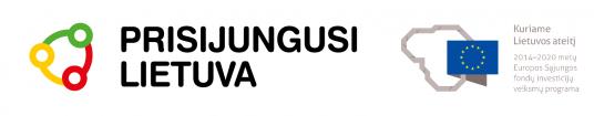 Prisijungusi Lietuva_ES logo_su fonu