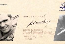 neĮMANOMA – Lietuvos aviacijos gaivintojas Vytautas Pakarskas. Parodoje ir kolegų prisiminimuose