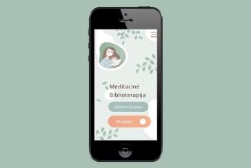 """Birštono viešoji biblioteka pristato ir kviečia naudotis mobiliąja programėle """"Meditacinė biblioterapija"""""""