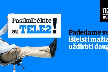 """""""Tele2"""" pataria, kaip nuotoliniu būdu efektyviai suvaldyti verslo procesus"""