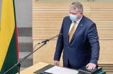 Prisiekė mūsų krašte į Seimą išrinktas Andrius Palionis