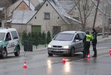 Per ilgąjį Kalėdinį savaitgalį mūsų krašte į Birštoną ir Prienus nebuvo įleisti 185 automobiliai