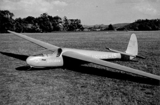 BK4 Pociūnuose. Nuotrauka iš Lietuvos aviacijos muziejaus fondų.
