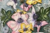 Vilijos Čiapaitės darbas (akvarelė)