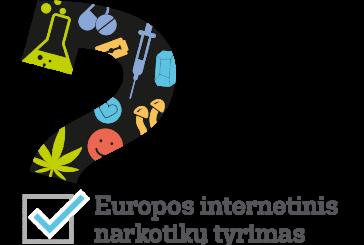 Europoje startuoja trečiasis internetinis narkotikų tyrimas