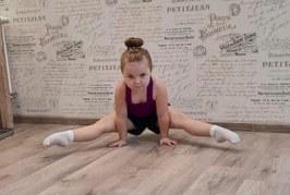 Aerobinės gimnastikos mylėtojų nesustabdo jokie karantinai ir nuotoliai