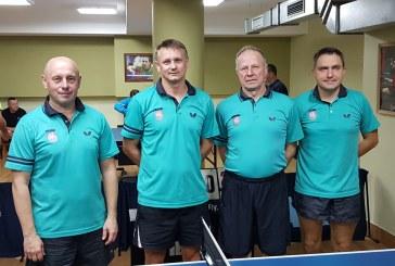 Prienų stalo tenisininkų komanda iš regionų čempionato pakilo į respublikinį lygį