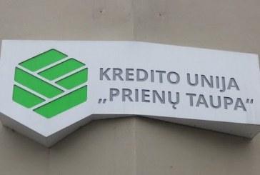 """Kredito unija """"Prienų taupa"""" siūlo paskolas geromis sąlygomis"""