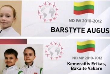 Atvirose Austrijos aerobinės gimnastikos taurės varžybose – Prienų KKSC gimnastės triumfas