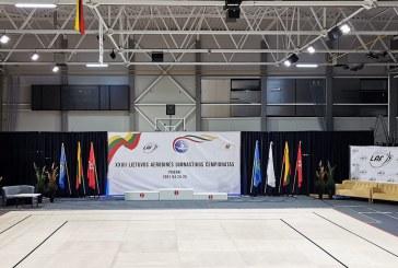 Lietuvos aerobinės gimnastikos čempionatas. Vaizdo reportažas iš Prienų sporto arenos (plius foto)