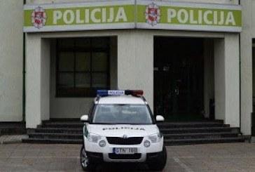 Alytaus pareigūnai ieško skulptūrą pavogusio vyro