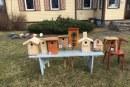 Inkilų paroda-konkursas Kašonių bibliotekoje