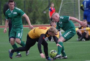 Prienų KKSC futbolininkai Lietuvos mažojo futbolo čempionatą pradėjo dvejomis lygiosiomis