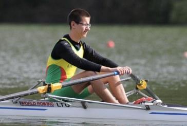Paulius Černevičius – Lietuvos irklavimo taurės I-ojo etapo nugalėtojas