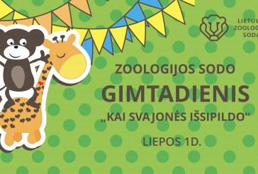 Lietuvos zoologijos sodas kviečia į 83-ojo gimtadienio šventę