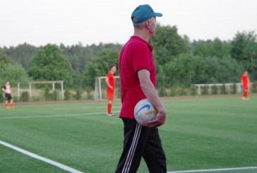 """""""Pozityvūs"""" futbolininkai Kėdainiuose iškovojo lygiąsias,sekmadienį Prienuose jų laukia susitikimas su Kazlų Rūdos futbolininkais"""