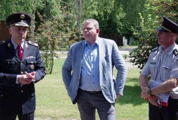 PAGD direktoriaus Sauliaus Greičiaus ir Seimo nario Andriaus Palionio viešnagė Prienų PGT Prienų ir  Birštono komandose (Fotoreportažas)