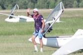 Kraštietis Gvidas Sabeckis išsiveržė į Lietuvos sportinės klasės sklandymo čempionato lyderius