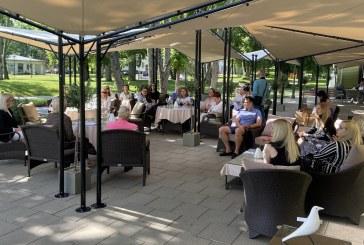 Birštono merės N. Dirginčienės susitikimas su Birštono klubo žurnalistais, viešbučių ir sanatorijų atstovais (Fotoreportažas)