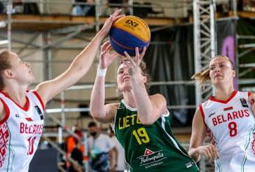 Prieniškė ir trečiajame FIBA 3×3 Tautos lygos etape lipo ant aukščiausios pjedestalo vietos