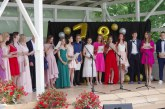 Fotoreportažas iš atestatų įteikimo ceremonijos Veiverių T.Žilinsko gimnazijoje