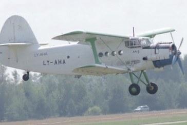 Pociūnuose naktį iš Kauno parašiutininkų teritorijos nuvarytas lėktuvas An-2, padegta patalpa