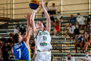 Prieniškė Livija Sakevičiūtė – 3×3 Tautos lygos I etapo nugalėtoja