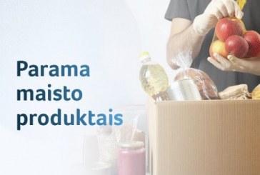 ES parama maisto produktais ir higienos prekėmis