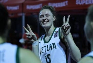 Livija Sakevičiūtė – 3×3 Tautų lygos turnyro nugalėtoja