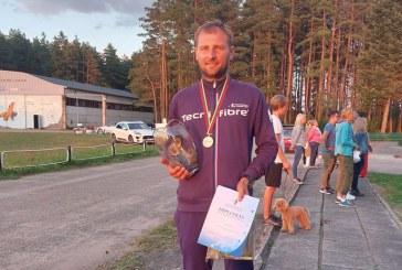 Gvidas Sabeckis – Lietuvos klubinės klasės sklandymo čempionato nugalėtojas