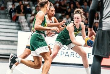 Lietuvos moterų 3×3 rinktinė Europos čempionato ketvirtfinalyje apmaudžiai nusileido Rusijos komandai