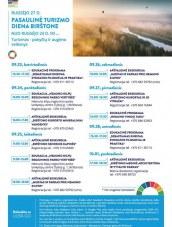 Pasaulinė turizmo diena Birštone