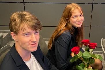 """Mokinių Seimo prezidento rinkimus """"Žiburio"""" gimnazijoje laimėjo Austėja Suchockaitė"""