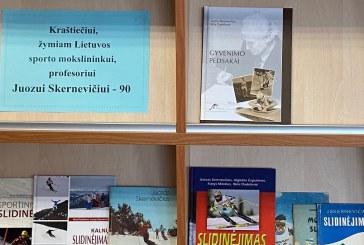 Jiezniečiui, žymiam Lietuvos sporto mokslininkui, profesoriui Juozui Skernevičiui – 90